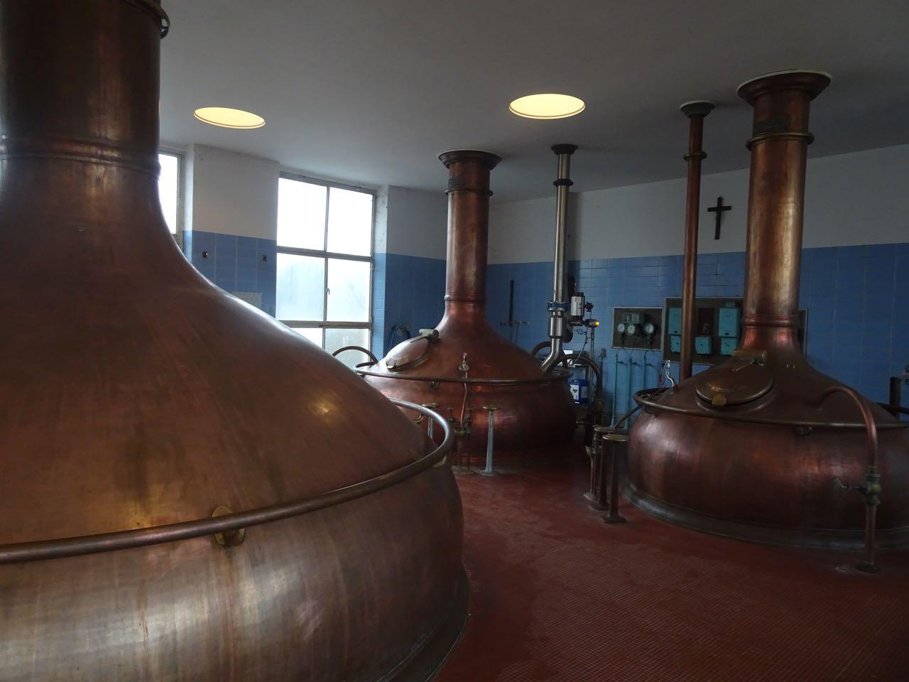 Brouwerij Het Anker - brouwzaal