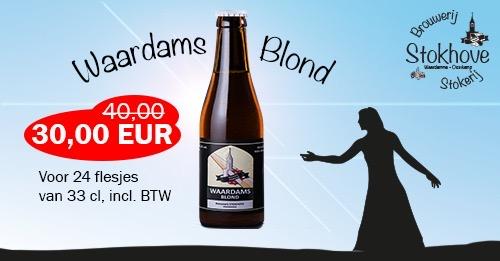 Brouwerij Stokhove - Promo Waardams Blond
