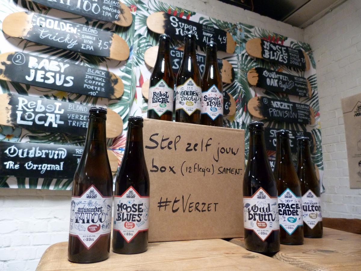 Brouwerij 't Verzet - Usual Suspects Box