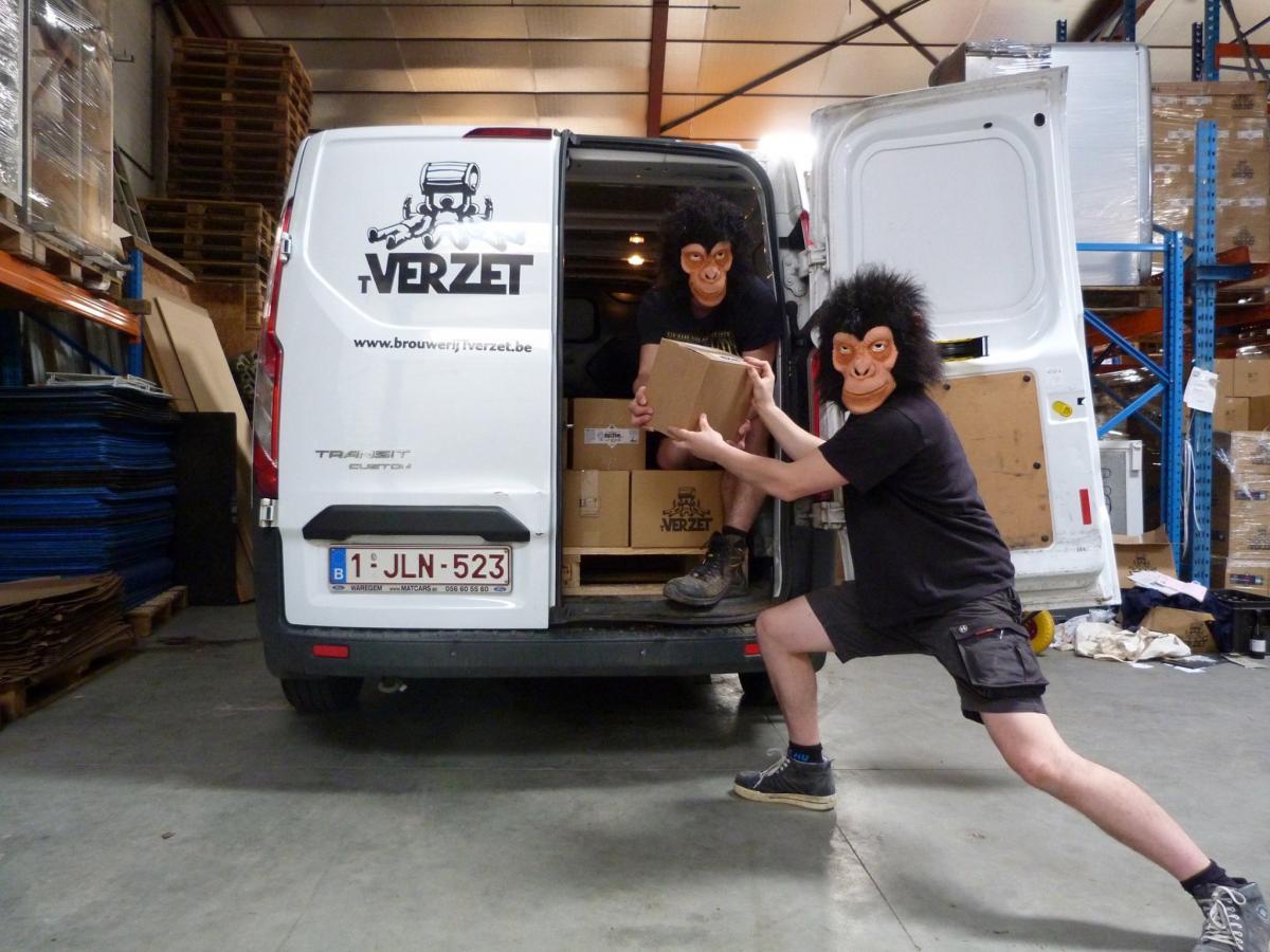 Brouwerij 't Verzet delivery