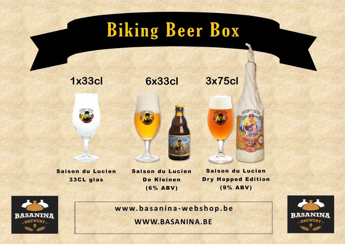 Basanina Biking Beer Box