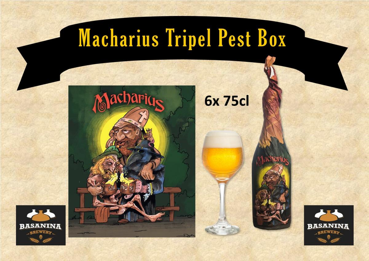 Basanina Macharius Tripel Pest Box