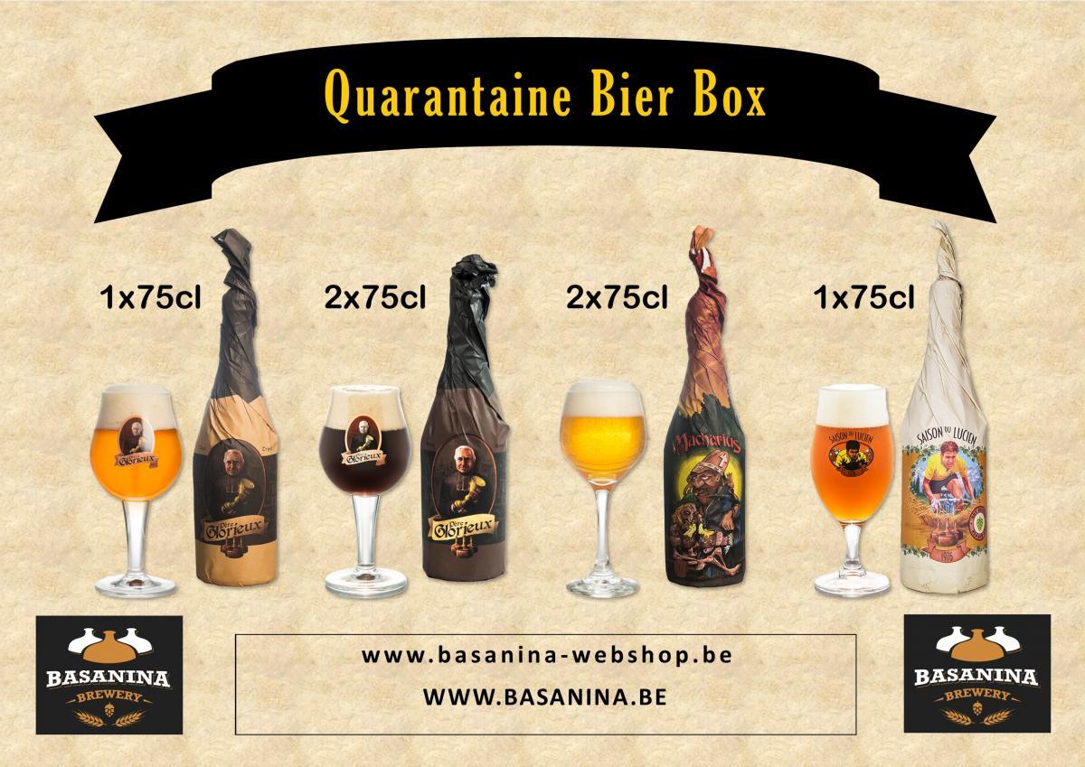 Basanina Quarantaine Bier Box